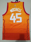 NWT Mens Utah Jazz 45 Donovan Mitchell 2018 New Swingmang Jersey S M L XL 2XL