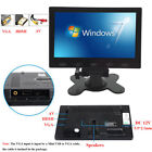 "US-7""/9""/10"" PC Screen LCD Monitor AV/RCA/VGA/HDMI 1080p for DSLR/PC/CCTV Camera"