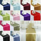"12""x108"" Satin Table Runners Wedding Party Banquet Event Tablecloth Decorations"