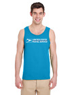 USPS Tank Top Postal Shirts - 14 COLORS!! BUY 2 GET 1 FREE! (must add 3 to cart)