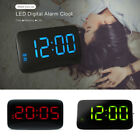 Digital LED Display Sound Control Alarm Clock Snooze Backlight USB / AAA Powered