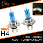 H4 100W HID WHITE XENON HALOGEN BULBS 12V PLASMA UPGRADE 5000K-6000K CHEVROLET