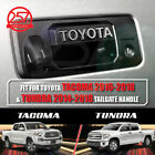 2 Sets TOYOTA TACOMA / TUNDRA Tailgate Handle Letters Logo Decals Vinyl Stickers