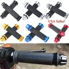 "Motorcycle 7/8"" Handlebar Hand Grips Gel For Yamaha YZF R1 R6 Suzuki GSXR600 750 $9.11 USD on eBay"