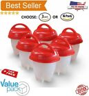 Home Garden - Egglettes Egg Cooker Hard Boiled Eggs As Seen on TV 6pcs Egg Cups Kitchen - NEW
