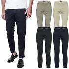 Pantalone Uomo Cotone Gang Jeans Made In Italy Chino Slim Fit Casual Elegante