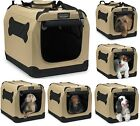 Indoor Pet Crate Home Portable Kennel Outdoor Dog Fabric Cage Soft Travel Easy