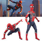 AU Avengers 3 Infinity War Kids/Adults Iron Spiderman Cosplay Costume Halloween