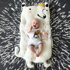 Baby Cotton Soft Play Mat Crawling Floor Kids Rug Pad Game Gym Activity Carpet