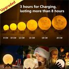 3d led light - USB 3D LED Moon Lamp Table Light Touch Control Home Decor Moonlight Rechargeable