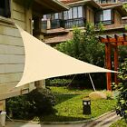 Outdoor Sun Shade Sail UV Awning Canopy Patio Pool Cover Triang 3m/4m/5m