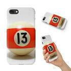 SNOOKER POOL TABLE BALLS 9 CASE IPHONE 4 4S 5 5C 5S SE 6 6S 7 8 X PLUS $6.93 USD on eBay