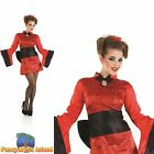 Geisha Girl Chinese Far East Eastern Oriental Adult Womens Fancy Dress Costume