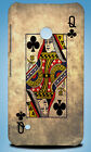 QUEEN OF CLUBS PLAYING DECK CARDS HARD CASE COVER FOR NOKIA LUMIA 530 730