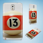 SNOOKER POOL TABLE BALLS 9 CASE FOR SAMSUNG GALAXY CORE PRIME/E5/E7/2 $8.15 USD on eBay