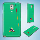 SNOOKER POOL TABLE 2 CASE FOR SAMSUNG GALAXY NOTE 2 3 4 5 8 9 $8.52 USD on eBay