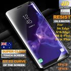 2XSamsung Galaxy S6  S7 S8 S9 Plus Full Cover Tempered Glass Screen Protector