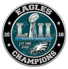 Philadelphia Eagles 2018 Super Bowl Championship Sticker, Decal 8 Differen Sizes