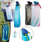 700ML Outdoor Travel Camping Folding Foldable Collapsible Drink Water Bottle UK