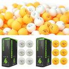 6pcs White Orange 3-Stars Olympic Ping Pong Ball Table Tennis Ball UK Stock Fast