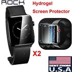 acemannan hydrogel - 2-Pack Hydrogel Screen Protector Film for Apple Watch Series 2/3 iWatch 38/42mm