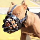 No Bite Bulldog Dog Mouth Covers Silicone Strong Muzzle Basket Pet Cat Hair Comb