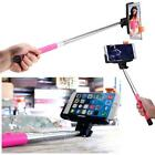 Handheld Bluetooth Selfie Stick Monopod+Selfie LED For Cell Phone iPhone Samsung