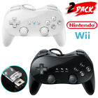 Wired Classic Controller Pro Gamepad for Wii Remote Console Video Game