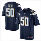 NFL Nike Los Angeles Chargers Football Manti Te'o #50 Game Jersey Sz-M-XL-468965 $34.99 USD on eBay