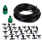5-25m DIY Single Outlet Atomizing Nozzle Cooling Spray Irrigation Watering Kit