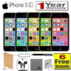 Apple iPhone 5C A1530 8GB, 16GB, 32GB All Colors GSM Unlocked AT&T, T-Mobile A++