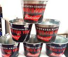 BUDWEISER BEER BUCKET FOLDS OF HONOR FOUNDATION MILITARY BEER 6 GROUP TO SELECT