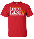 "Houston Rockets James Harden Lebron James ""19"" T-Shirt on eBay"