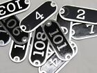 Внешний вид - U Pick # 1-116 Aluminum NUMBER Seating Locker Basket Drawer TAGS PLATE Type 2 3K