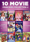 free princess movie - 10 Movie Princess Collection 2 (DVD, 2014, 2-Disc Set) Free Shipping