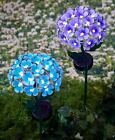best solar lights garden - 26 Light Solar Powered Flower Yard Stake Beautiful Day Or Night Garden 2 Colors