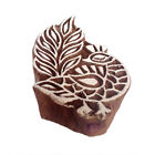 Indian DIY Handicraft Animal Wooden Block Henna Fabric Textile Printing Stamps