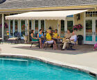 SunSetter Retractable Awning Motorized XL 18 ft. Acrylic Fabric, Deck & Patio