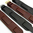 Military Watch Band Cuff Style Genuine Heavy Leather Choice of colors D024