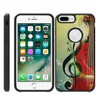 "For Apple iPhone 8 Plus (5.5"") Hybrid Dual Layer Hard Protective Slim Case"