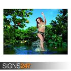SUMMERTIME FUN (AD994) NATURE POSTER - Photo Picture Poster Print Art A0 to A4