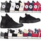 WOMENS MENS ALL STARS CHUCK TAYLOR OX LOW HIGH TOP CANVAS SHOES SNEAKERS X F