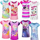 Girls Masha Frozen Trolls Pony Nightie Nighty Nightdress Pjs Age 3-12 years