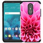 LG Stylo 4 Case Hybrid Shockproof Dual Layer Phone Cover Vivid Color Design <br/> DESIGN &amp; PRINT IN USA | SATISFACTION GUARANTEE!!