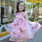 9 year old clothes girls - Girls Kids Summer Floral Dress Sleeveless Cotton Party Clothes 6-10 Years Old