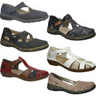 Womens Shoes Rieker Leather Casual Work Outdoor Ladies Shoe Comfort NEW SIZE