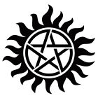 Supernatural logo Vinyl Decal Sticker Car laptop phone