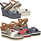 Wrangler Womens Sandals Shoes Espadrille Wedge Platform Summer Ladies SIZE NEW