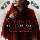 2018 Star Wars Ring The Last Jedi Princess Leia Women Ring Blue Stones Jewelry $5.32 CAD on eBay