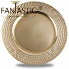 Внешний вид - Fantastic:)™ Round 13Inch Charger Plate With Metallic Finish ( Hammer Pattern )